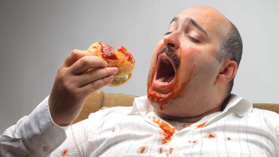 eating badly will not let you get things done