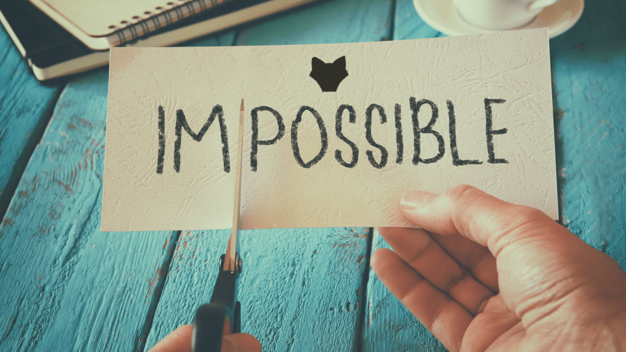 effective goal setting - impossible is just i'm possible